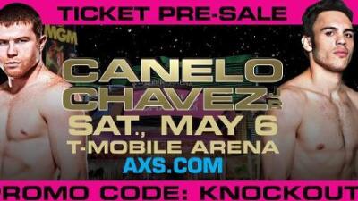 Ya están a la venta los boletos para la 'Canelo' vs. Chávez Jr.
