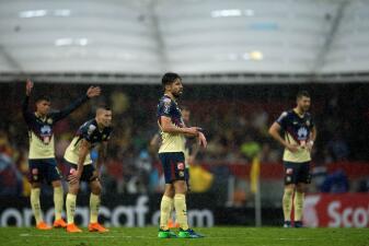 En fotos: el empate no fue suficiente y América quedó eliminado de la Concacaf Liga de Campeones