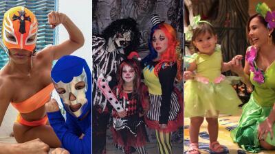 En fotos: Así se disfrazaron los hijos de los famosos para Halloween 2018