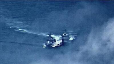 Tensión en altamar: Buques armados de EEUU y Rusia a punto de chocar en aguas del océano Pacífico