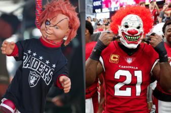 Chucky en la NFL y más del color de Halloween en el fútbol americano