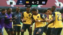 Encamina Michael Estrada triunfo de Ecuador sobre Uruguay