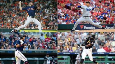 Estos son los líderes en pitcheo y bateo en las Grandes Ligas