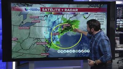 Qué se puede esperar de la ciclogénesis explosiva que golpea el noreste de EEUU