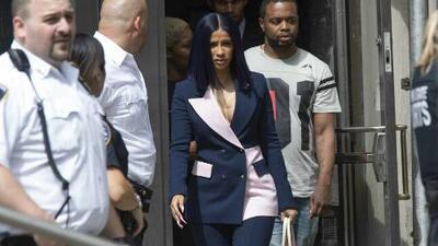 Cardi B se declara no culpable de los cargos que se le imputan por una pelea en un club nocturno