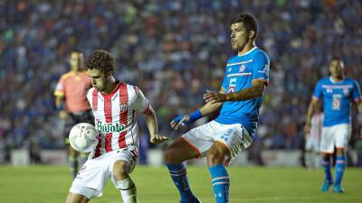 Necaxa y Cruz Azul empataron sin goles en el Estadio Victoria