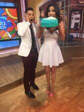 Aquí sí partimos pastel: Así celebramos el cumple de Ana Patricia