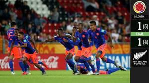 En dramática ronda de penales, Colombia avanza a los Cuartos de Final
