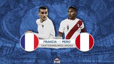 Perú buscará el milagro mundialista ante Francia para quedar con vida en el grupo C