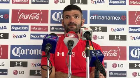 """Emmanuel Gigliotti: """"Toluca ya no tiene margen de error"""""""