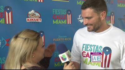 Julián Gil listo para festejar las fiestas de la calle en Miami