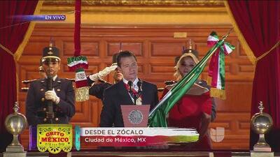 ¡Viva México! El momento en que el país azteca alza su voz y se escucha 'El Grito' de Independencia