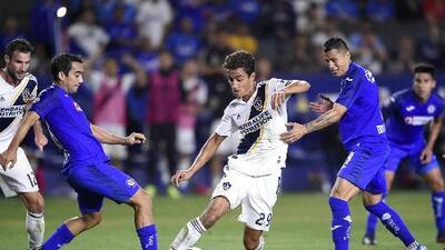 LA Galaxy queda afuera en semifinales de la Leagues Cup tras perder contra Cruz Azul