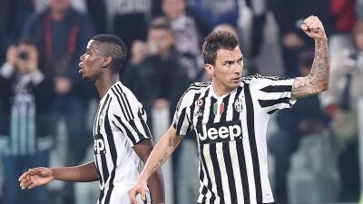 Mario Mandzukic le da el triunfo a Juventus ante el Empoli