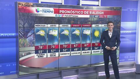 Clima para el miércoles 17 de abril