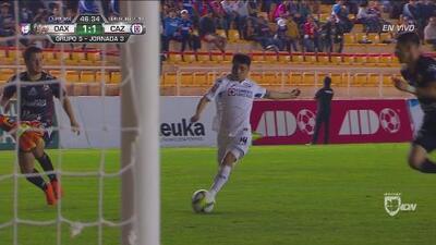 Jonathan Rodríguez reemplazó a Orbelín y sirvió el 1-1 de Cruz Azul