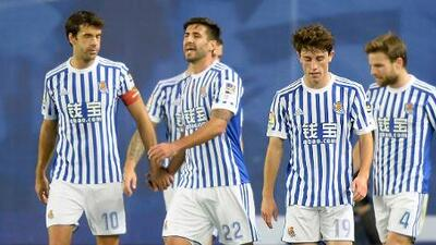 Sin Héctor Moreno, la Real Sociedad venció 3-0 al Levante