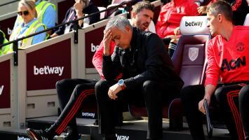 Mourinho encuentra a quién culpar después de perder contra West Ham United