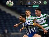 Porto deja escapar la oportunidad de acercarse al Sporting