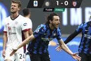 Inter derrota al Cagliari y ya acaricia el título de la Serie A