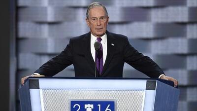 El millonario Bloomberg no se traga la imagen de empresario de éxito de Trump