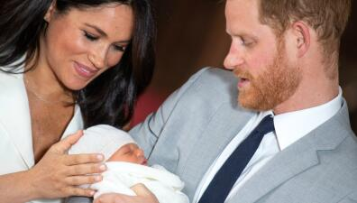 Primeras fotos del bebé de Meghan y Harry: Archie Harrison Mountbatten-Windsor
