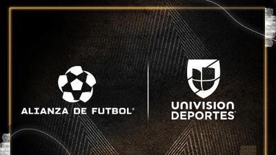 Alianza de Futbol y Univision Deportes firman un convenio por cuatro años