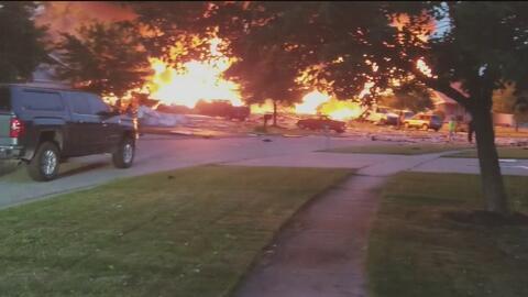 Una explosión deja a varias familias si hogar en Marengo