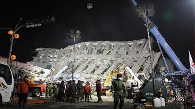 Imágenes del terremoto en Taiwán