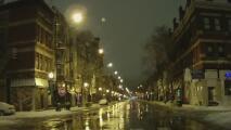 Ten cuidado si vas a manejar: así lucen las calles de Chicago este martes tras la tormenta invernal