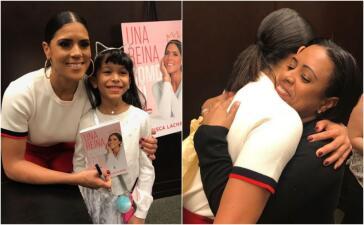 Éxito total: Francisca Lachapel presentó su libro 'Una reina como tú' en Nueva York (fotos)