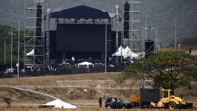 En un minuto: Gran concierto hoy en la frontera para pedir la entrada de la ayuda a Venezuela