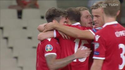 Grecia 1-1 Liechtenstein, - Resumen - Grupo J - Clasificatorio Eurocopa 2020