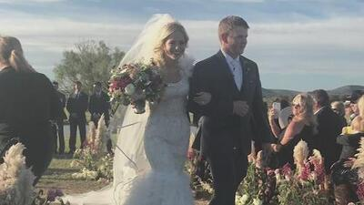 Murieron en un accidente de helicóptero tan solo dos horas después de casarse