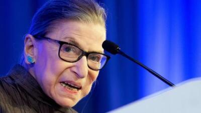 La jueza Ruth Bader Ginsburg sale del hospital tras someterse a cirugía por cáncer