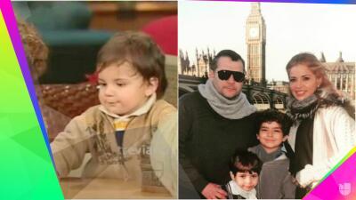 Ya es un galán: mira cómo ha crecido Miguel Armando, el hijo menor de Gloria Trevi