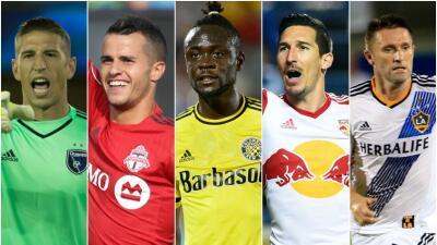 Giovinco, Keane, Kljestan, Kamara y Bingham, nominados al Jugador del Mes de la MLS