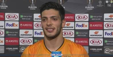 """Raúl Jiménez: """"Este gol significa todo por lo que trabajamos"""""""