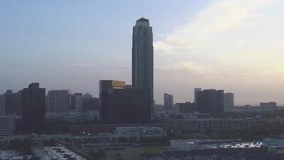 Pronostican un miércoles soleado en Houston con presencia de algunas lluvias
