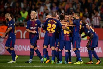 Barcelona gana, golea, asusta y mantiene ventaja al Real Madrid