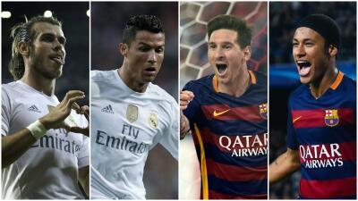 Jugadores que deben de pesar y aparecer en el clásico Real Madrid vs. Barcelona