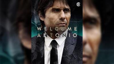 El Inter lo hace oficial: Antonio Conte es su nuevo entrenador