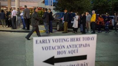 Inician las votaciones anticipadas en Texas para las elecciones de medio término