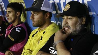 El suplente de Diego Maradona en Dorados