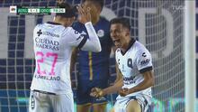 ¡Gran jugada del Querétaro y Fernando Madrigal anota el 1-1!
