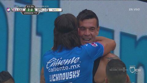 ¡Así marcó Caraglio el gol 10 mil en la historia del Estadio Azteca!