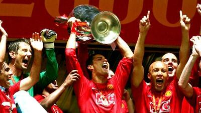 UCL   Cuando el 'joven' Cristiano Ronaldo ganó el título con el Manchester United al vencer por penales al Chelsea