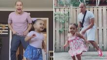 Un padre hispano se vuelve viral en TikTok al compartir sus videos de baile con su hija de 2 años