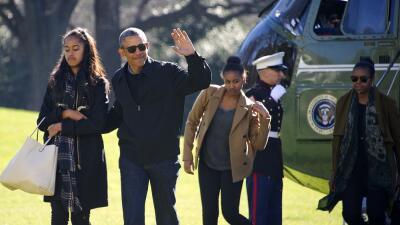 Malia y Sasha acompañarán a Obama a Cuba