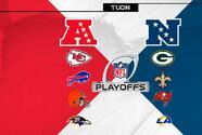 La ronda divisional en la NFL tiene duelos de alto calibre